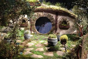 hobbit garden at the 2013 northwest flower and garden show - Northwest Flower And Garden Show